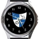 Camelford FC Round Metal Watch