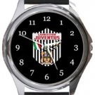 Launceston Juventus FC Round Metal Watch