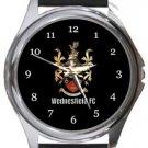 Wednesfield FC Round Metal Watch