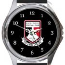 Black Country FC Round Metal Watch