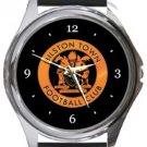 Bilston Town FC Round Metal Watch