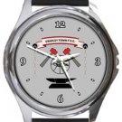 Cradley Town FC Round Metal Watch