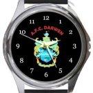 AFC Darwen Round Metal Watch