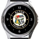 Alton FC Round Metal Watch
