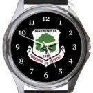 Ash United FC Round Metal Watch