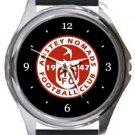 Anstey Nomads FC Round Metal Watch