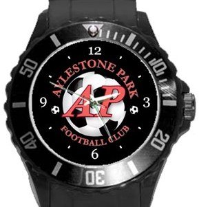 Aylestone Park FC Plastic Sport Watch In Black