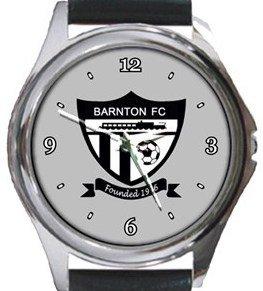 Barnton FC Round Metal Watch