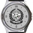 Bedford FC Round Metal Watch