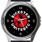 Bicester United FC Round Metal Watch