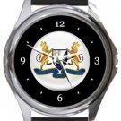 Bishop Sutton AFC Round Metal Watch