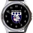 Burnham FC Round Metal Watch