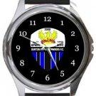 Burton Park Wanderers FC Round Metal Watch