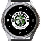 Brimsdown FC Round Metal Watch