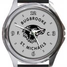 Bugbrooke St. Michaels FC Round Metal Watch