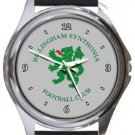 Billingham Synthonia FC Round Metal Watch