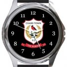 Chard Town FC Round Metal Watch