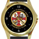 Chester Le Street Town FC Gold Metal Watch