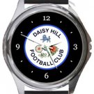 Daisy Hill FC Round Metal Watch