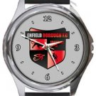 Enfield Borough FC Round Metal Watch