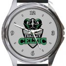 Farsley Celtic Football Club Round Metal Watch