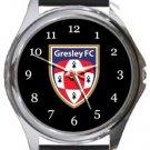 Gresley Football Club Round Metal Watch