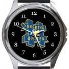Hashtag United FC Round Metal Watch