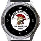 Irchester United FC Round Metal Watch