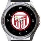 Lower Breck FC Round Metal Watch