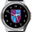 Milton United FC Round Metal Watch