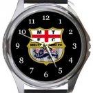 Melton Town FC Round Metal Watch