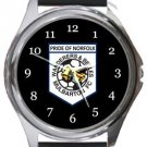 Mulbarton Wanderers FC Round Metal Watch