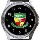 Nantwich Town FC Round Metal Watch