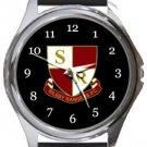 Northampton Sileby Rangers FC Round Metal Watch