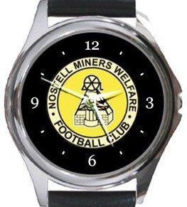 Nostell Miners Welfare FC Round Metal Watch