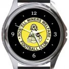Nostell Miners Welfare FC Round Metal Watch
