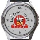 Lichfield City FC Round Metal Watch