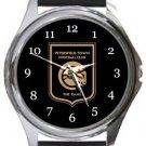 Petersfield Town FC Round Metal Watch