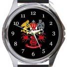 Prestwich Heys AFC Round Metal Watch