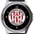Risborough Rangers FC Round Metal Watch