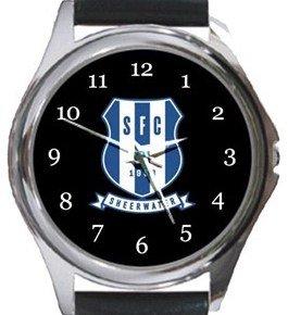 Sheerwater FC Round Metal Watch