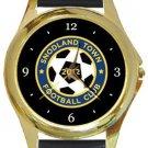 Snodland Town FC Gold Metal Watch