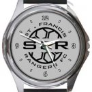 St. Francis Rangers FC Round Metal Watch