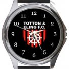 Totton & Eling Football Club Round Metal Watch