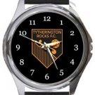 Tytherington FC Round Metal Watch