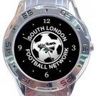 South London Football Network Analogue Watch