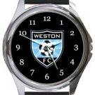 Weston FC Round Metal Watch