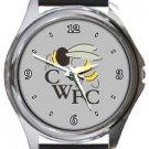 Chalfont Wasps FC Round Metal Watch