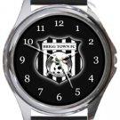 Brigg Town FC Round Metal Watch