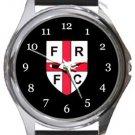 Farleigh Rovers FC Round Metal Watch